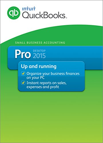 QuickBooks Pro Small Business Accounting Software 2015 (Old Version) [Download]