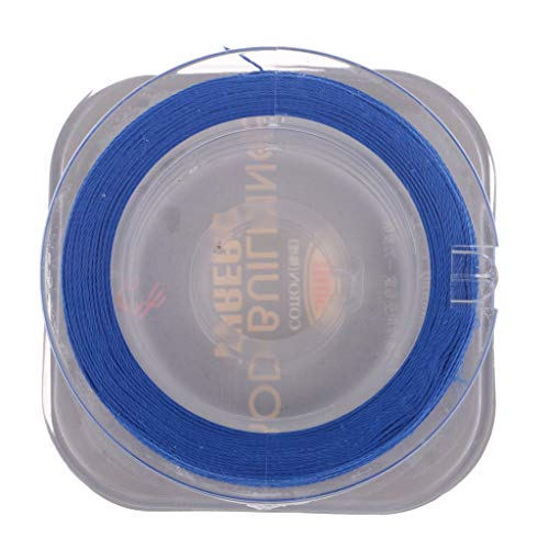 50m/ Spool Rod Guide Wrapping Lines DIY Fishing Line Thread Strong Nylon for Rod Building - Blue ()