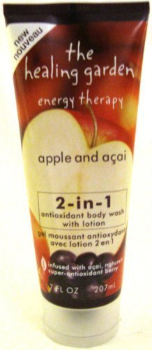 The Healing Garden Apple and Acai 2-in-1 body wash with lotion by The Healing Garden