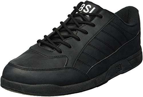 BSI Men's Basic #521 Bowling Shoes, Black, Size 6.0