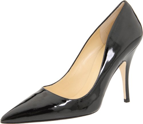 Kate Spade New York Women's Licorice Pump,Black/Patent,7.5 M (Kate Spade Patent Leather Shoes)