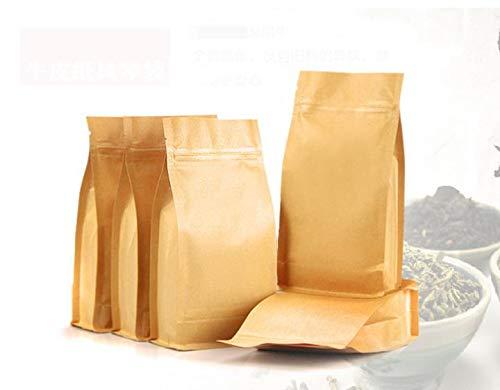 Gift Bags Wrapping Supplies - 20 30cm 5cm Kraft Paper Zip Bags Tea Packing Packaging Bag - Handle Flower Packaging Keychain Sachet Giraffe Daisy Artificial With Custom ()