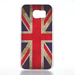 SHOUJIKE Flag of UK Pattern PC Hard Back Cover Case for Samsung Galaxy S6