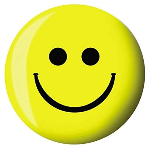 Brunswick-Bowling-Products-Smiley-Face-Viz-A-Ball-12Lbs-YellowBlack-12-lbs