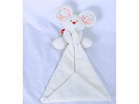 UHUA - Toalla de peluche para bebé, diseño de animales, apto para niños de