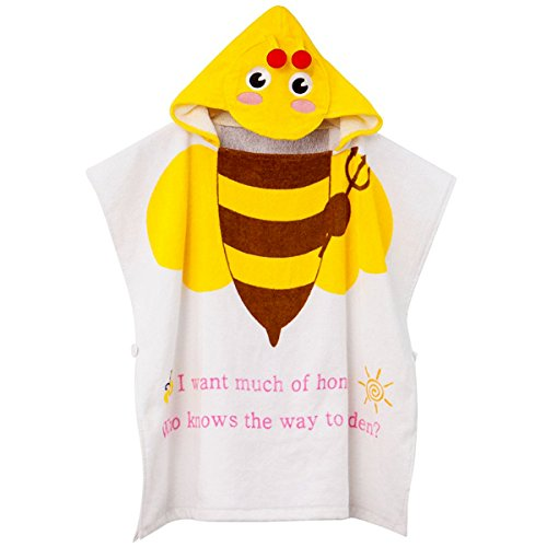 cute-baby-hooded-towelstar-top-100-organic-cottonsoftchildrens-cartoon-bathrobe-for-baby-gifts-bees
