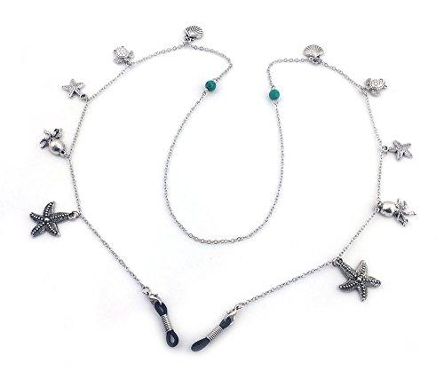 Treasures of the Sea Eyeglass Holder, Eyeglass Chain, Eyeglass Lanyard