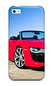 Premium Audi R8 Gt 4 Back Cover Snap On Case For Iphone 5c