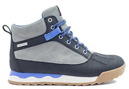 Forsake Duck – Women's Waterproof Leather Performance Sneakerboot (8.5, Black/Stone) by Forsake