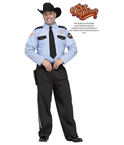 Costumes With P (Sheriff Roscoe P. Coltrane Adult Costume)
