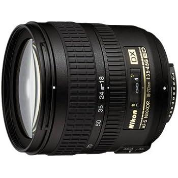 Nikon 18-70mm f/3.5-4.5G ED IF AF-S DX Nikkor Zoom Lens - White Box(Bulk Packaging)