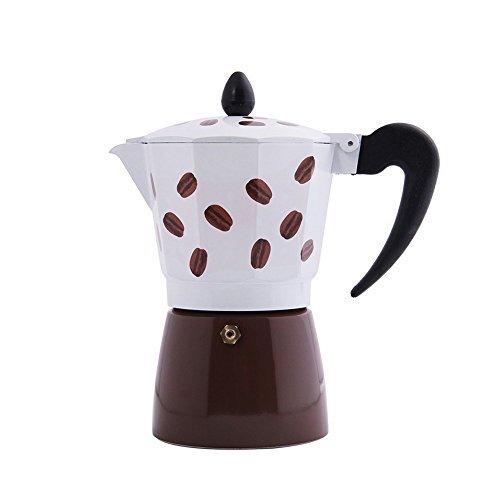 Cheap JIMEI Italian Moka Express Stovetop Espresso Maker Pot Coffee Latte 3 cups