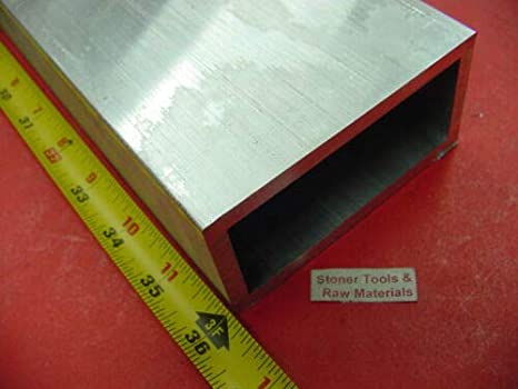 "4/"" X 4/"" X 1//4/"" X 18/"" Long Aluminum Angle 6061-T6"