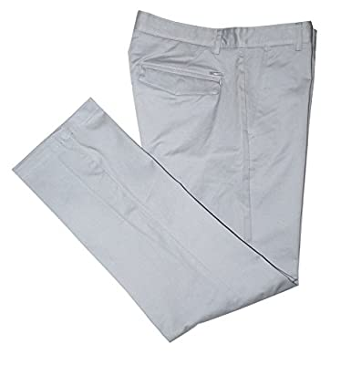 Calvin Klein Men's Regular Fit Stretch Sateen Pants, Convoy