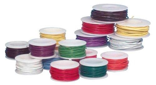 Sax 408413 Colored Art Wire, 20 gauge, 25' per Spool, Assort