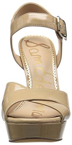 Sam Edelman Women's Willa Heeled Sandal Nude Patent 24JtLBj