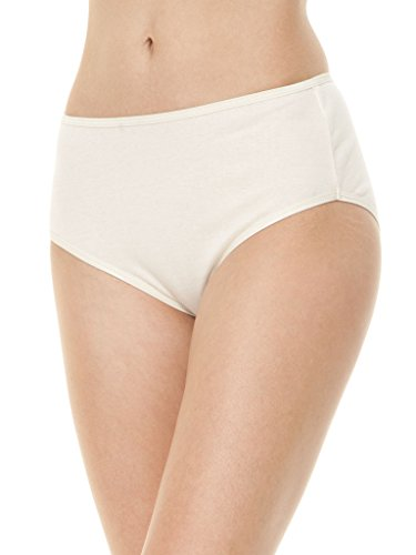 Blue Canoe 100% Organic Cotton Full Brief X-Large Natural (Blue Canoe Panties)