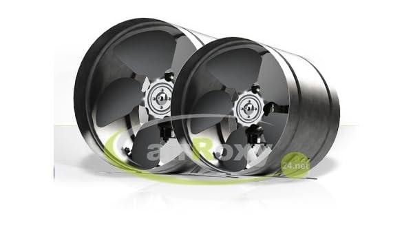 succsale – Alta calidad Antena airroxy Tubo Ventilador para tubo de 150 mm de diámetro ventilador ventilador ventilador de alta presión Canalizado ventiladores metal Radial Centrífugo: Amazon.es: Hogar
