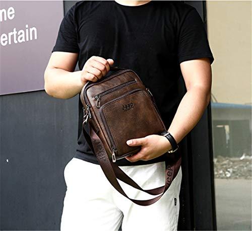 Sac Tablette Grand À Shoulder Cuir En Bags Affaire Bandoulière Marron1 Fashion Vintage Mature Hommes Crossbody Mode Sacoche Meceo OqCBawC