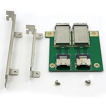 Amazon com: LSI Logic SAS3801E 8PORT Pcie 3G Minisas 2 4PORT