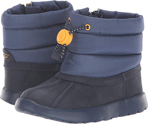 UGG Baby T Puffer WP Snow Boot, Navy, 9 M US - Boot 09 Snow