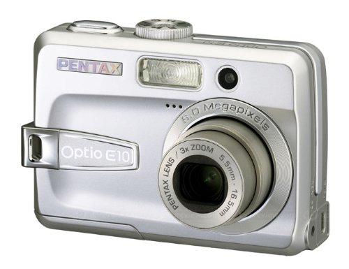 Pentax Optio E10 6MP Digital Camera with 3x Optical Zoom