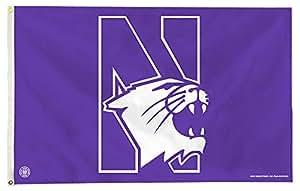 Northwestern - 3' x 5' Polyester NCAA Flag