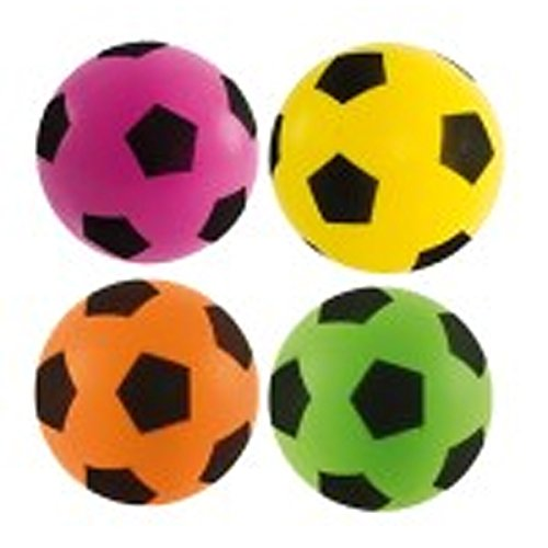 Sponge/Foam Football 17.5cm Assorted Colours