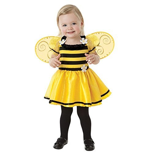 amscan Baby Little Stinger Bee Costume - 6-12 Months, Yellow/Black