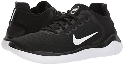 Amazon.com: Nike Free Rn 2018 Sz 6.5 Womens Running Black/White Shoes: Sports & Outdoors