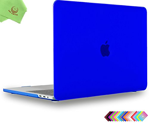 MacBook Pro 13 inch Case 2018 2017 2016, UESWILL Smooth Matte Hard Case for MacBook Pro 13-inch, 2/4 Thunderbolt 3 Ports (USB-C), with/Without Touch Bar, Model A1989/A1706/A1708, Royal Blue