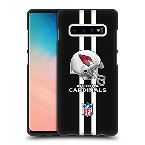 Official NFL Helmet Arizona Cardinals Logo 2 Black Soft Gel Case for Samsung Galaxy S10+ / S10 Plus