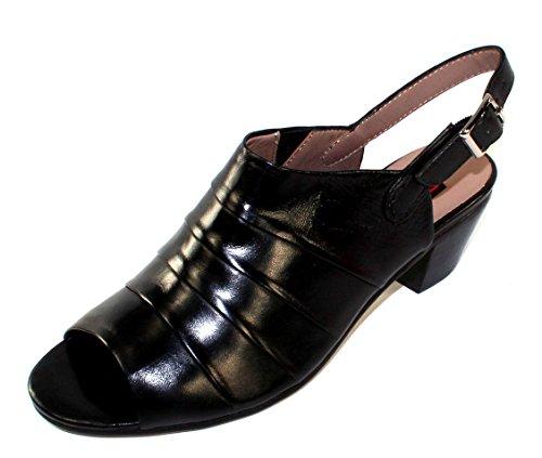 Alla Kvinnor 66114s3287 I Svart Handske Läder - Storlek 41 M