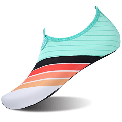 JOINFREE Nuoto Acqua Scarpe Scarpe Acqua da Scarpe Uomo Arcobaleno Ad Estive Quick da Piedi A Donna Yoga Nudi Ginnastica da da da Dry 8xxwr
