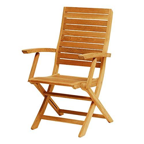 Atlanta Teak Furniture - Teak Folding Chair - Grade-A (Atlanta Teak)
