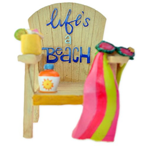 Life's a Beach Christmas Ornament