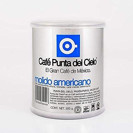 Punta del Cielo Americano Ground Coffee - Cafetera (10.58 oz ...