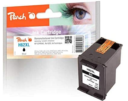 Peach cabezal de impresión Negro Compatible con HP No. 62 x l ...