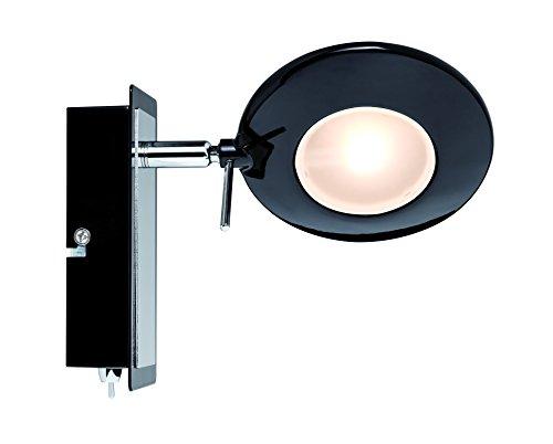 Paulmann Leuchten Strahler LED 1x3 W Orb 230 V, schwarz / chrom 60247