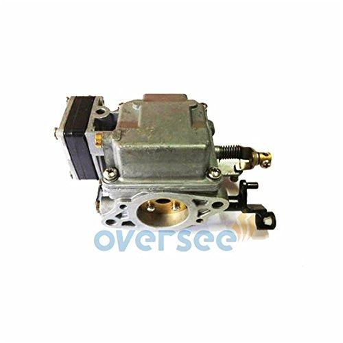 Carburetor Assembly 63V-14301-10-00 for Yamaha 9.9HP 15HP 2 Stroke Outboard Motor Engine (10 Hp Outboard Motor)