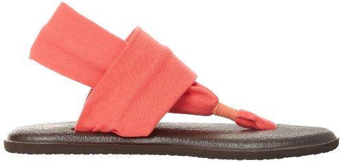 Infradito Sanuk Yoga Donna Sling 2 Corallo ttgwSFUrq