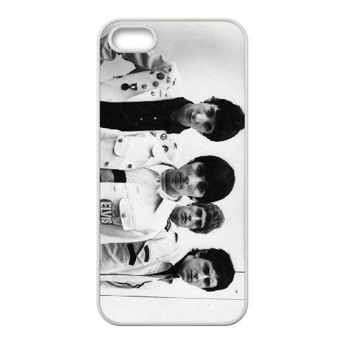 The Who 001 coque iPhone 4 4S cellulaire cas coque de téléphone cas blanche couverture de téléphone portable EOKXLLNCD20351