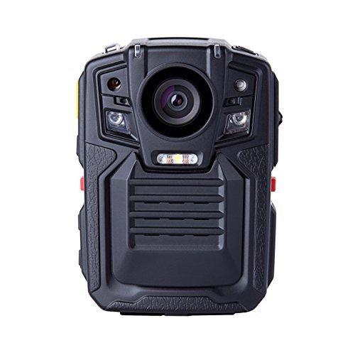 Angin-Tech Cam102 visió n nocturna infrarroja 1080P HD Cuerpo de Policí a Worn cá mara de ví deo de la seguridad del IR Cam construido en la tarjeta GPS Ayuda de detecció n de movimiento + 32GB TF (Incluye 32 GB TF tarjet