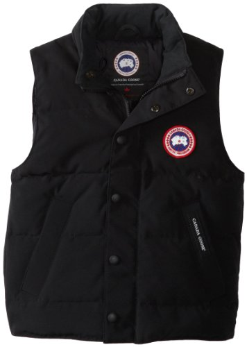 Canada Goose Youth Vanier Vest (Black, X-Small)