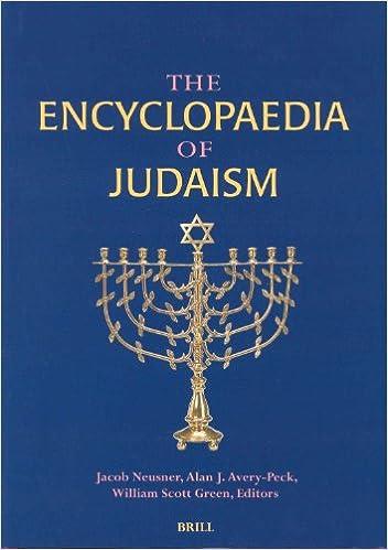 Volumes I-III The Encyclopaedia of Judaism