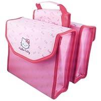 Bike Fashion Hello Kitty dubbele tas, roze, 35 x 27 x 21 cm
