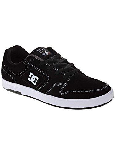 Dc Shoes Menns Dc Shoes Nyjah S - Skate Sko - Men - Vi 7 - Svart Svart / Hvit / Hvit Oss 7 / Uk 6 / Eu 39