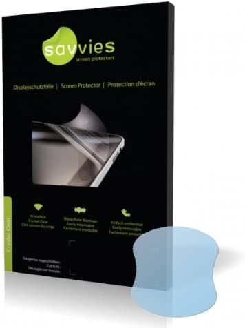 Display Protection Film Savvies Crystalclear Screen Protector for Siemens ME45 100/% fits Protective Film