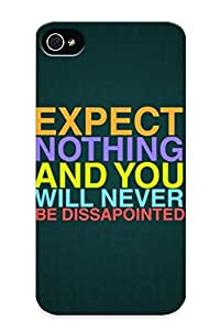 6463ccd5400 Anti-scratch Case Cover Recalling Protective Expect Nothing Case For Iphone 4/4s