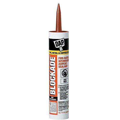 (BLOCKADE 10.1 oz. High Performance Intumescent Acrylic Sealant (12-Pack))